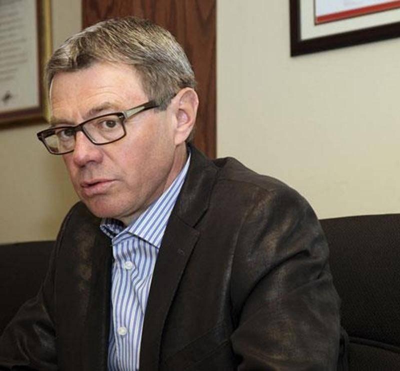 Claude Corbeil, président de la Chambre de commerce et de l'industrie des Maskoutains.