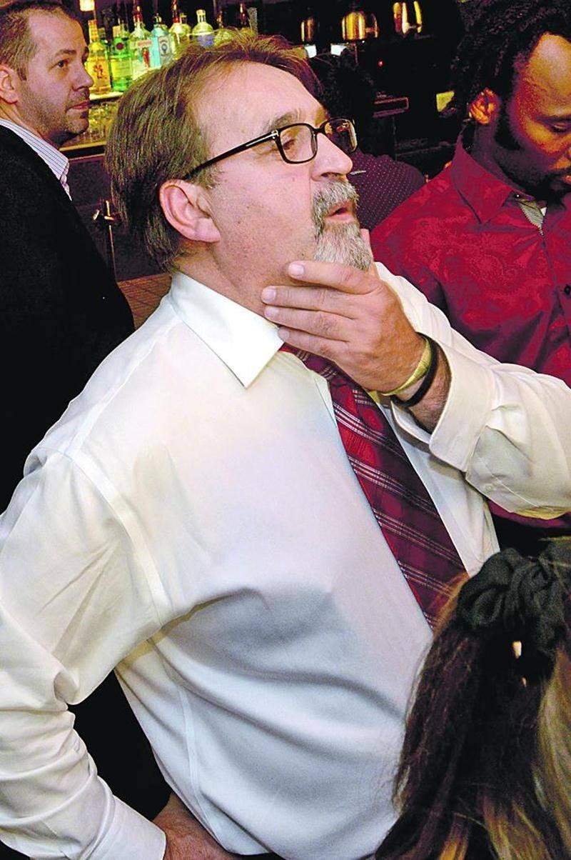 Le candidat libéral René Vincelette. Photo François Larivière | Le Courrier ©