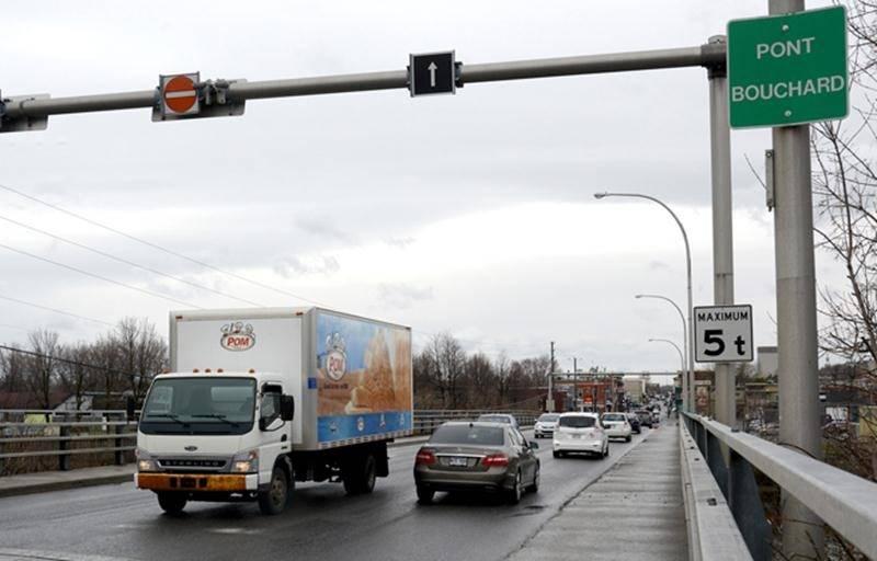 Le pont Bouchard interdit aux camions