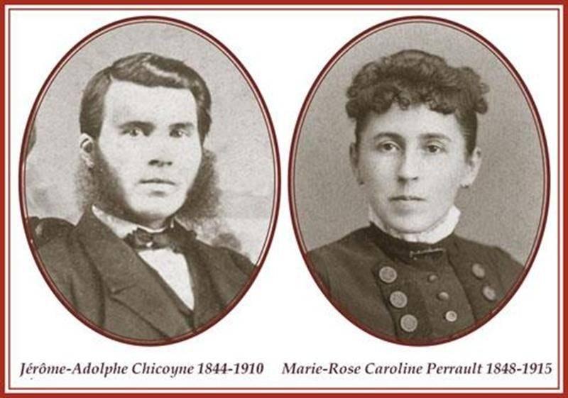 J.A. Chicoyne, et Caroline Perreault