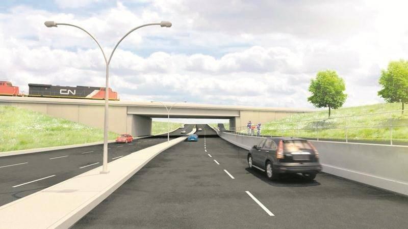 Le conseil décidera ce printemps du sort du projet d'étagement ferroviaire du boulevard Casavant Ouest.