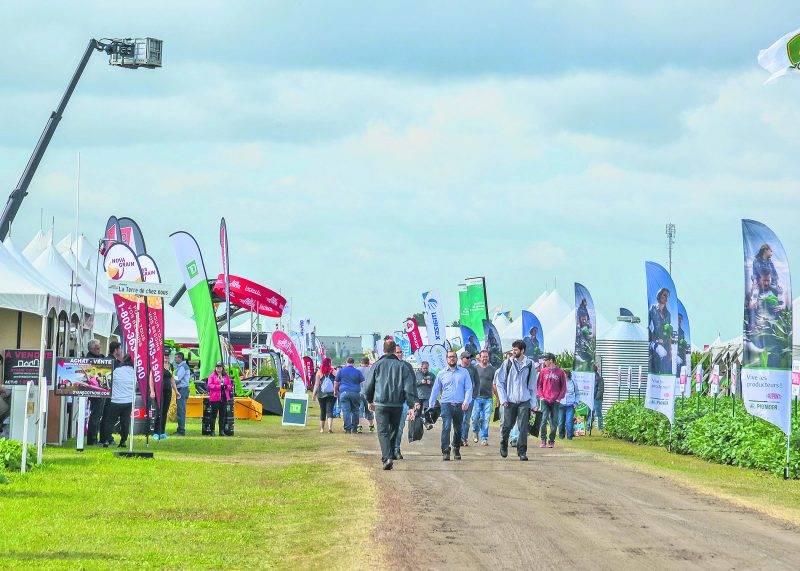 Pour la présente édition, les organisateurs ont comptabilisé 18 043 visiteurs soit 3 890 personnes de plus que l'an dernier. On espère battre ce record d'affluence en 2018, année où l'on célébrera le 20e anniversaire de ce salon agricole à ciel ouvert.
