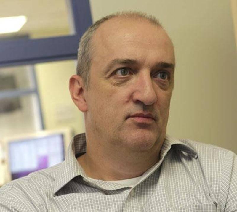 Jean-Philippe Morin, entraîneur-chef de l'équipe de football des Lauréats du Cégep de Saint-Hyacinthe.