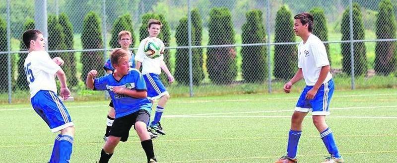 Le Tournoi national de soccer de Saint-Hyacinthe a accueilli 34 équipes de plus que l'an dernier. Photo Robert Gosselin | Le Courrier ©