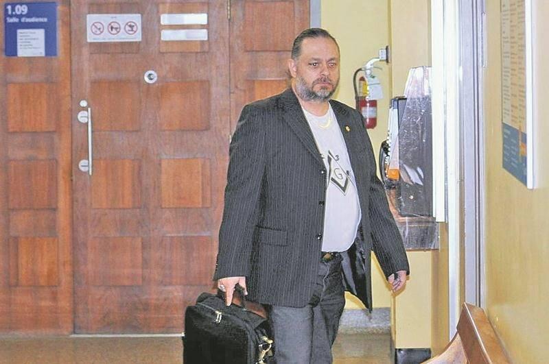 François Marquis au Palais de justice de Drummondville. Photothèque | Le Courrier ©