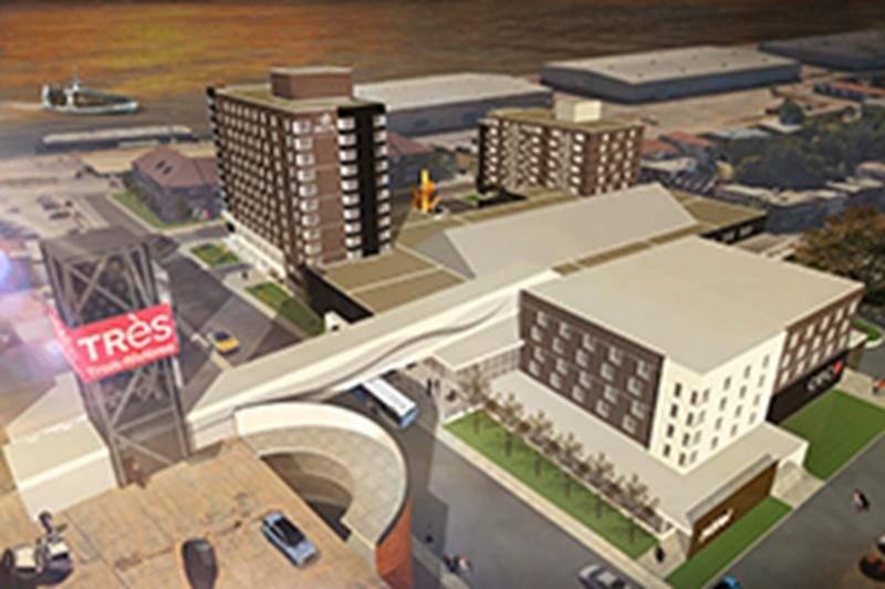 Trois-Rivières annonce un complexe de 48 M$
