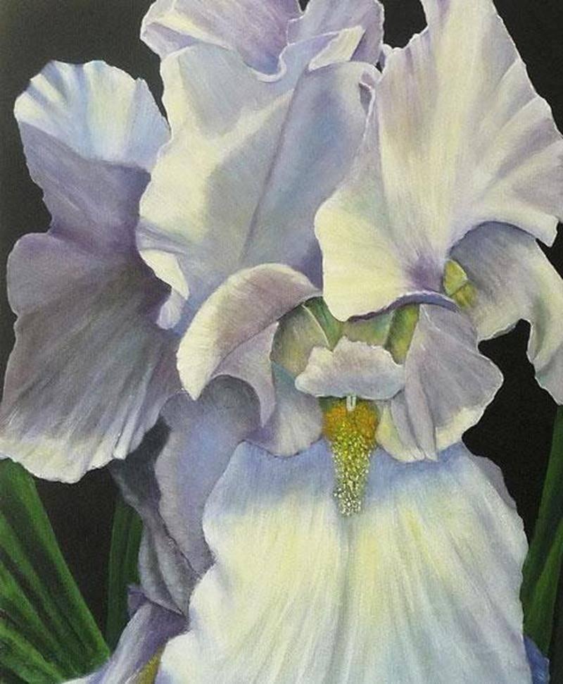 Une oeuvre de l'artiste-peintre Marcelle Simard-Dupuis
