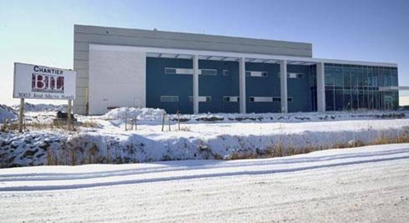 Le Centre de développement pharmaceutique de Saint-Hyacinthe situé sur l'avenue José-Maria-Rosell devrait être terminé début 2014.
