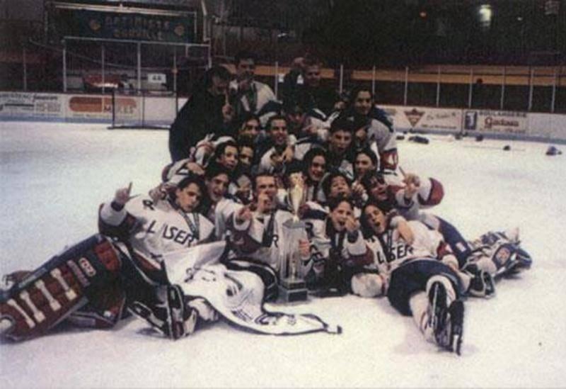 L'équipe de Bruno Gervais et Maxime Talbot, le Laser du Richelieu, a remporté le tournoi en 1998.