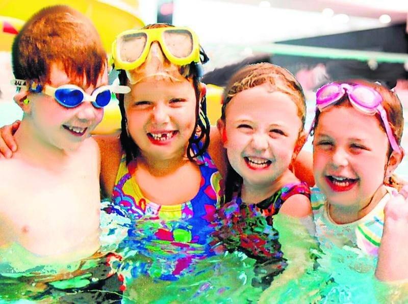 Depuis deux ans, la Corporation aquatique maskoutaine offre des forfaits pour fêter l'anniversaire des enfants.