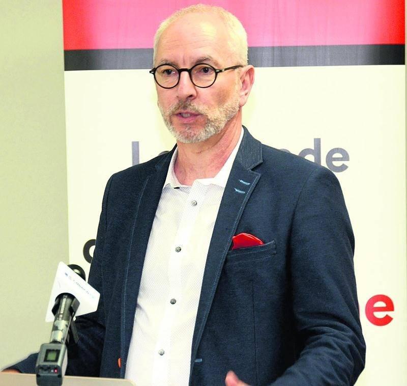 Pierre Rhéaume, directeur général de la Chambre de commerce de la grande région de Saint-Hyacinthe. Photo François Larivière | Le Courrier ©