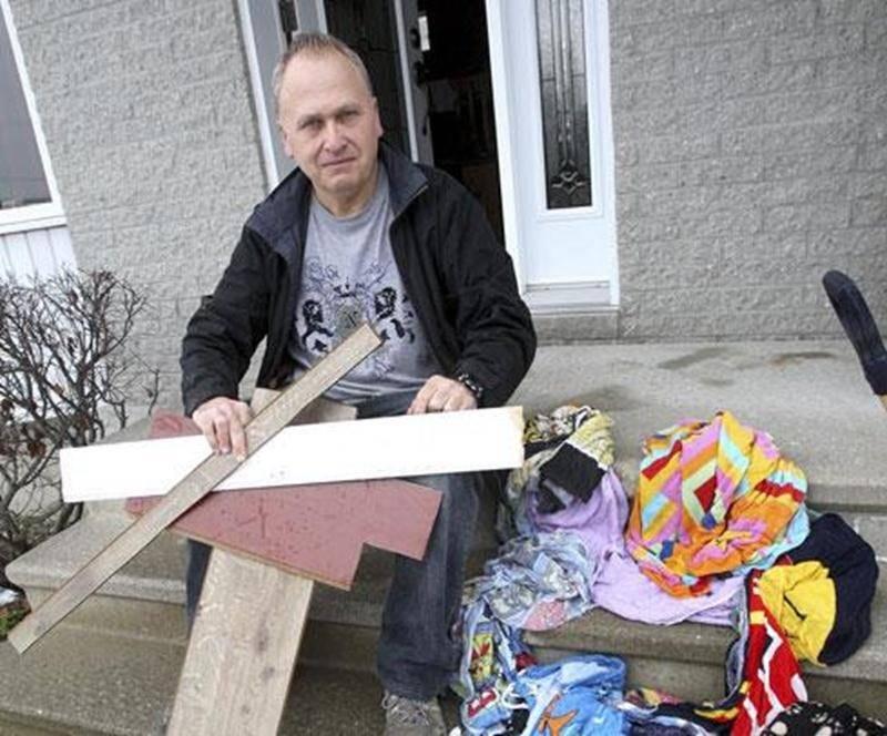 Michel Pellerin devra recommencer une fois de plus les aménagements qu'il avait réalisés dans son sous-sol.