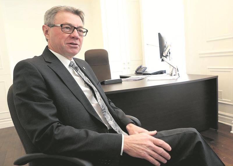 Le maire de Saint-Hyacinthe, Claude Corbeil.