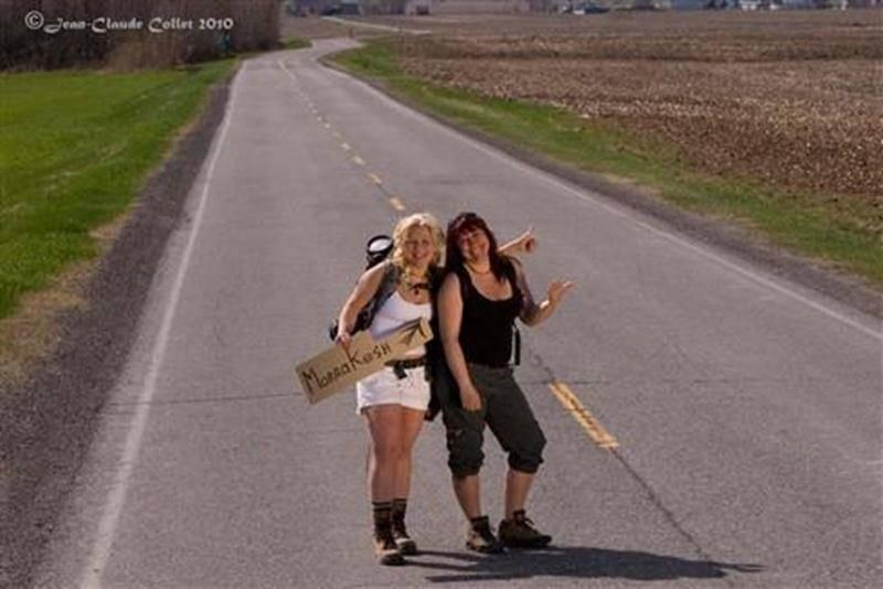 Geneviève Dion et Manon Tanguay participeront au Trophée Roses des sables, une aventure 4X4 réservée aux femmes.