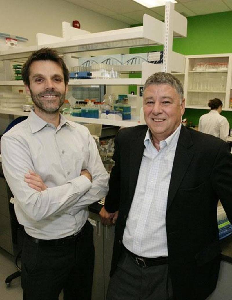 Dr Éric Nadeau et Michel Fortin