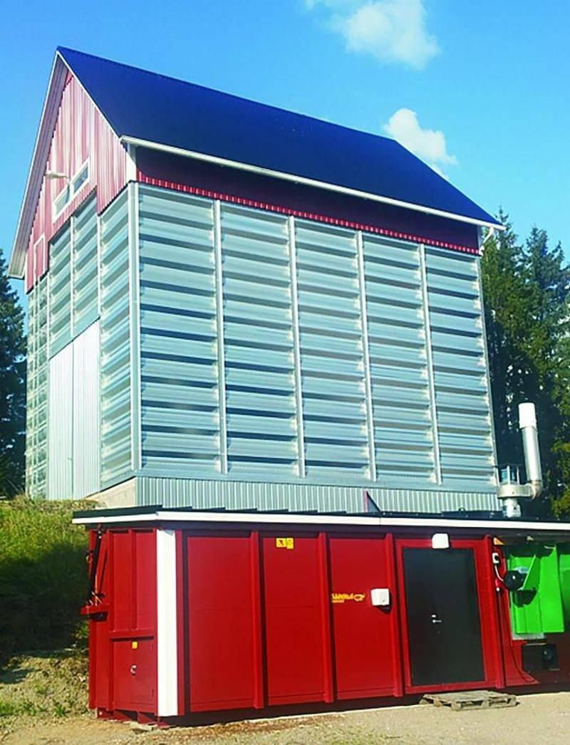 Un générateur d'air chaud pouvant être couplé à un séchoir à grains est l'un des produits phares que souhaite commercialiser la filiale canadienne de l'entreprise finlandaise Säätötuli. Courtoisie Säätötuli