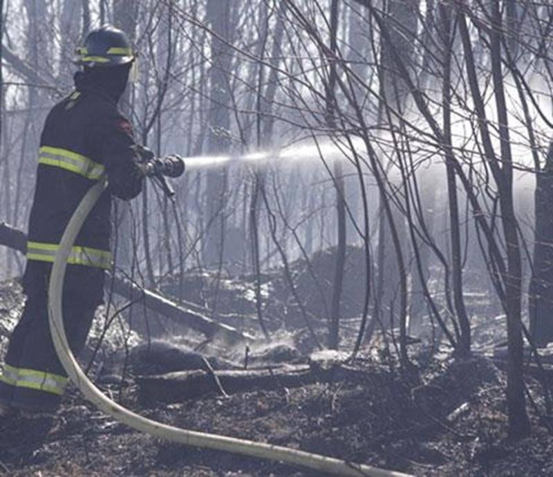 Le feu de broussailles à Saint-Valérien s'est propagé sur une distance d'environ six kilomètres.