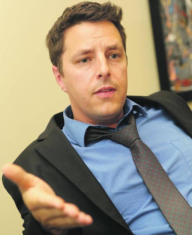 Le candidat indépendant, Ugo Ménard. Photo Robert Gosselin | Le Courrier ©