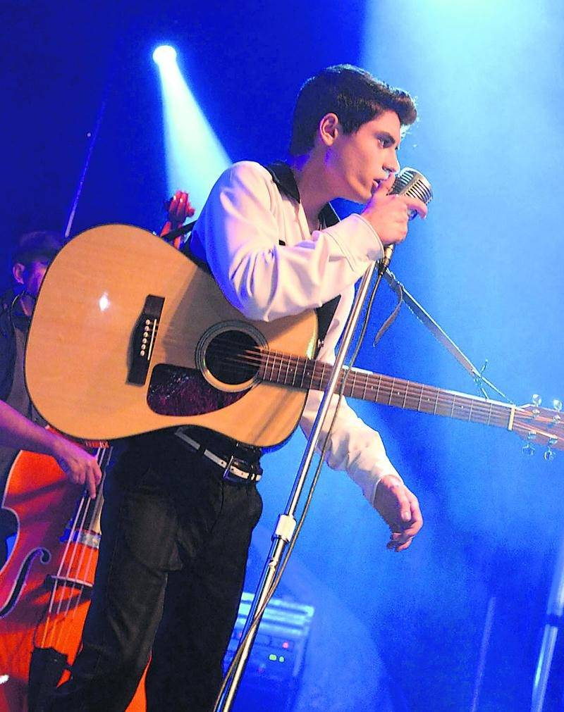 David Thibault qui personnifie Elvis a été la révélation de l'Expo Bar. Photo Expo