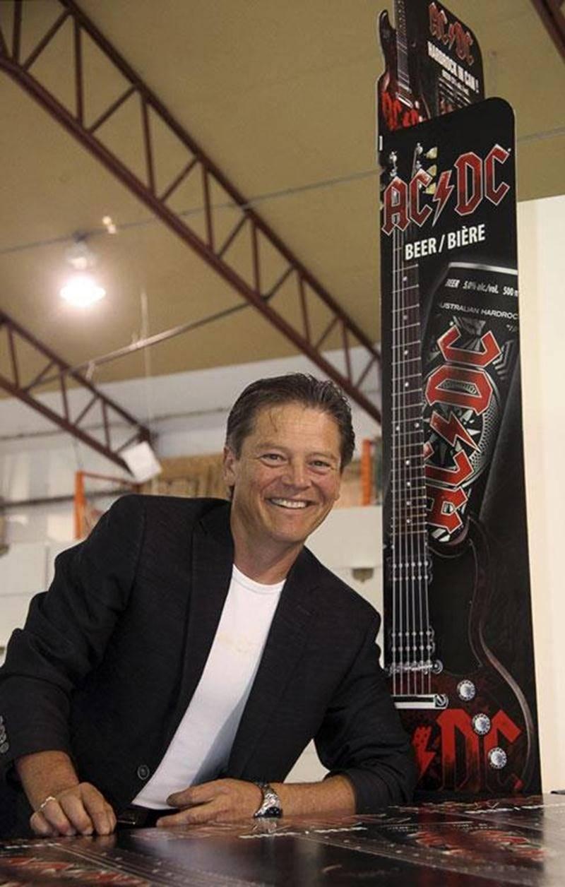 Alain L'Heureux, président des Emballages Cartex