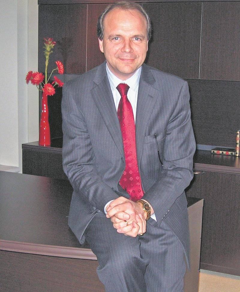 Sylvain Garneau, président et chef de la direction du groupe Lacasse de Saint-Pie.