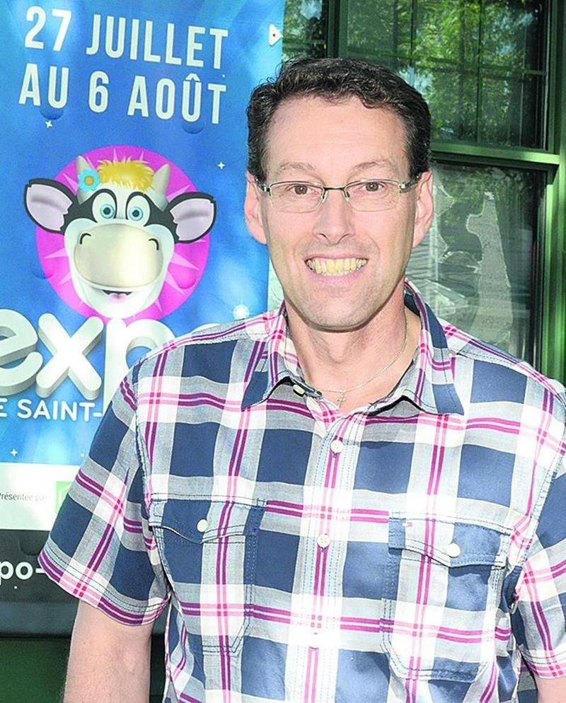 François Brouillard, directeur général de l'Expo de Saint-Hyacinthe. Photo François Larivière | Le Courrier ©