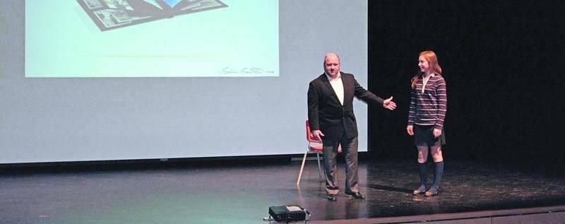 Le psychologue sportif du Canadien de Montréal, Sylvain Guimond, a rendu visite aux élèves de 4e secondaire du Collège Saint-Maurice.