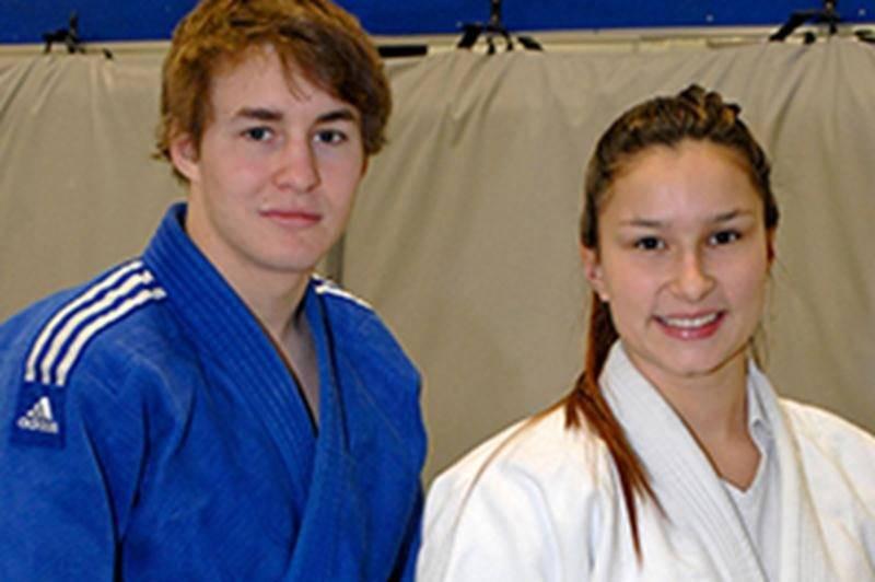 Audrey Poirier et Benjamin Daviau s'envolent pour la France