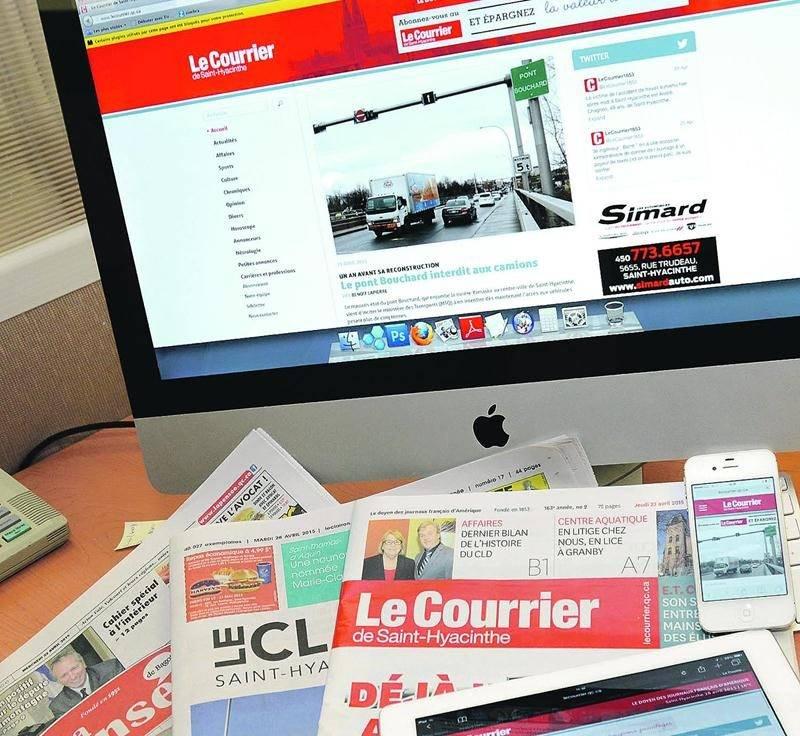 Au cours de la prochaine année, DBC Communications collaborera à une avancée technologique et numérique qui servira les intérêts des lecteurs et des annonceurs de la presse hebdomadaire au Québec.Photo François Larivière | Le Courrier ©