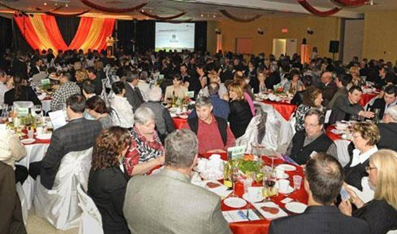 Le banquet de la Fédération de l'UPA de la Montérégie de l'an dernier avait réuni plusieurs participants. Cette année, plus de 400 personnes sont attendues pour cette soirée.
