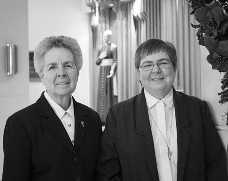 Soeur Maryse Gauvin et Soeur Johanne Coulombe