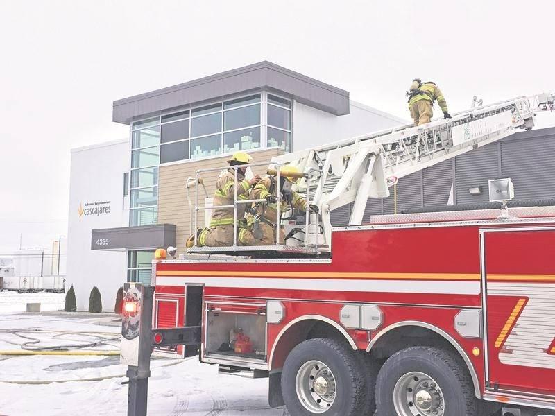 L'incendie qui a touché Industrie Gastronomique Cascajares n'aura pas d'impact sur la production, a fait savoir la directrice générale de l'entreprise par voie de communiqué.