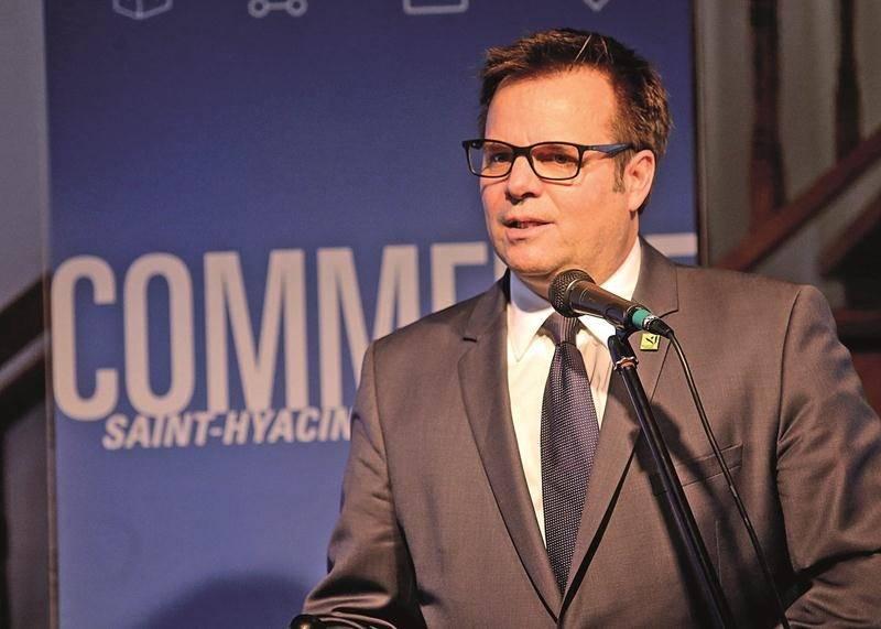 Claude Rainville, directeur du développement commercial de Saint-Hyacinthe Technopole.  Photo Robert Gosselin | Le Courrier ©