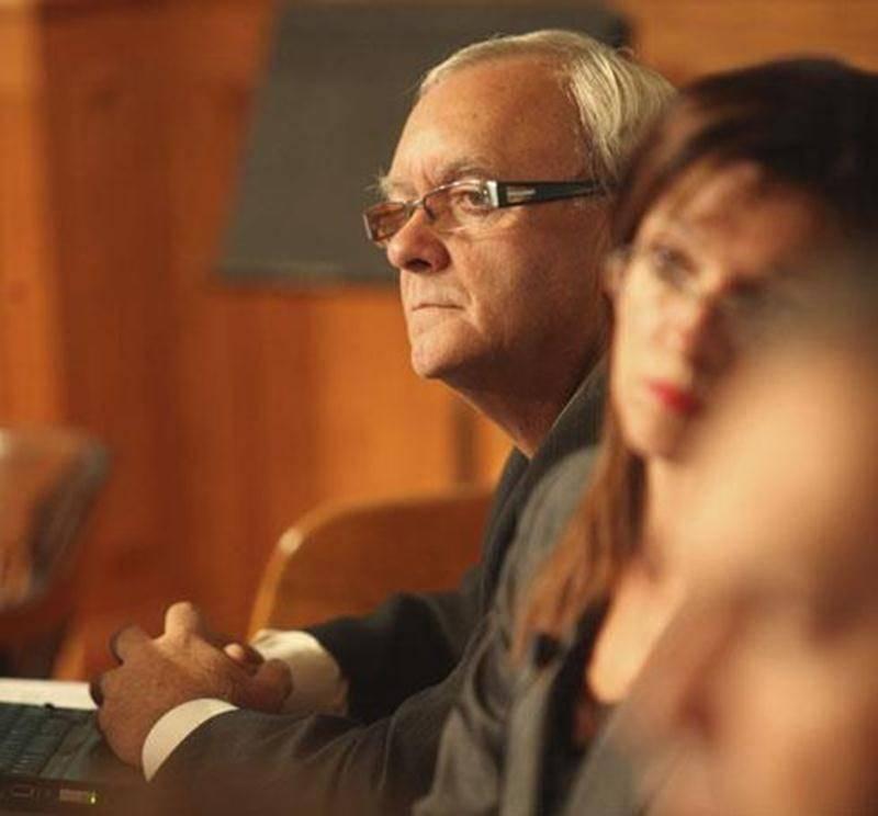 Le conseiller du district Saint-Thomas-d'Aquin, Guylain Coulombe.