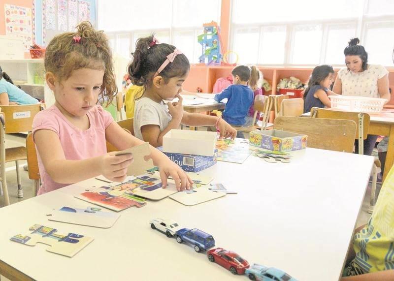La CSSH a maintenant une cinquantaine d'élèves de 4 ans à la maternelle à temps plein et 85 à temps partiel. Elle souhaiterait continuer d'ouvrir de nouvelles classes dans les prochaines années.  Photo François Larivière | Le Courrier ©