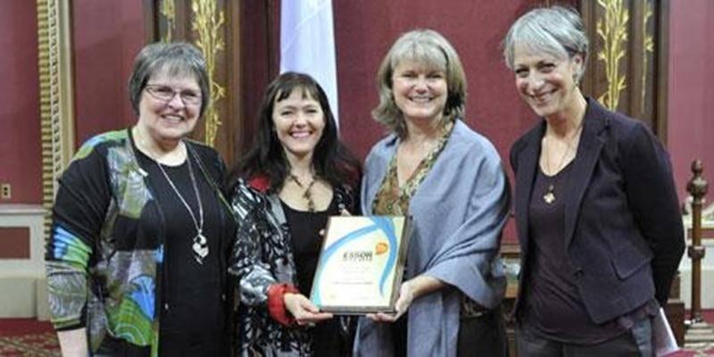 L'école aux Quatre-Vents a mérité le prix <em>Culture pour tous</em> lors de la remise des prix nationaux de reconnaissance Essor 2012-2013 à l'Assemblée nationale.