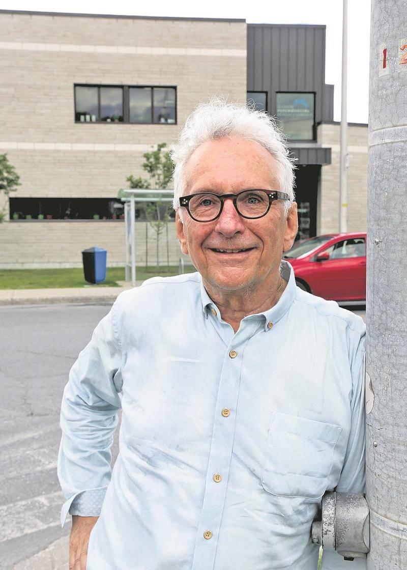 Après 22 ans de service, le directeur général du Centre psychosocial Richelieu-Yamaska Guy Lemieux a pris sa retraite au début juillet. Photo Robert Gosselin | Le Courrier ©