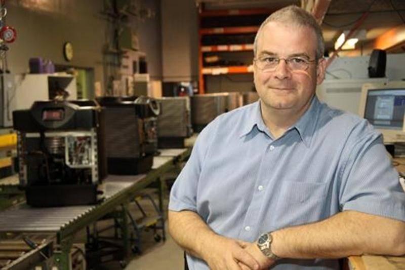 Denis Ellefsen, dirigeant de l'entreprise Waterco Canada
