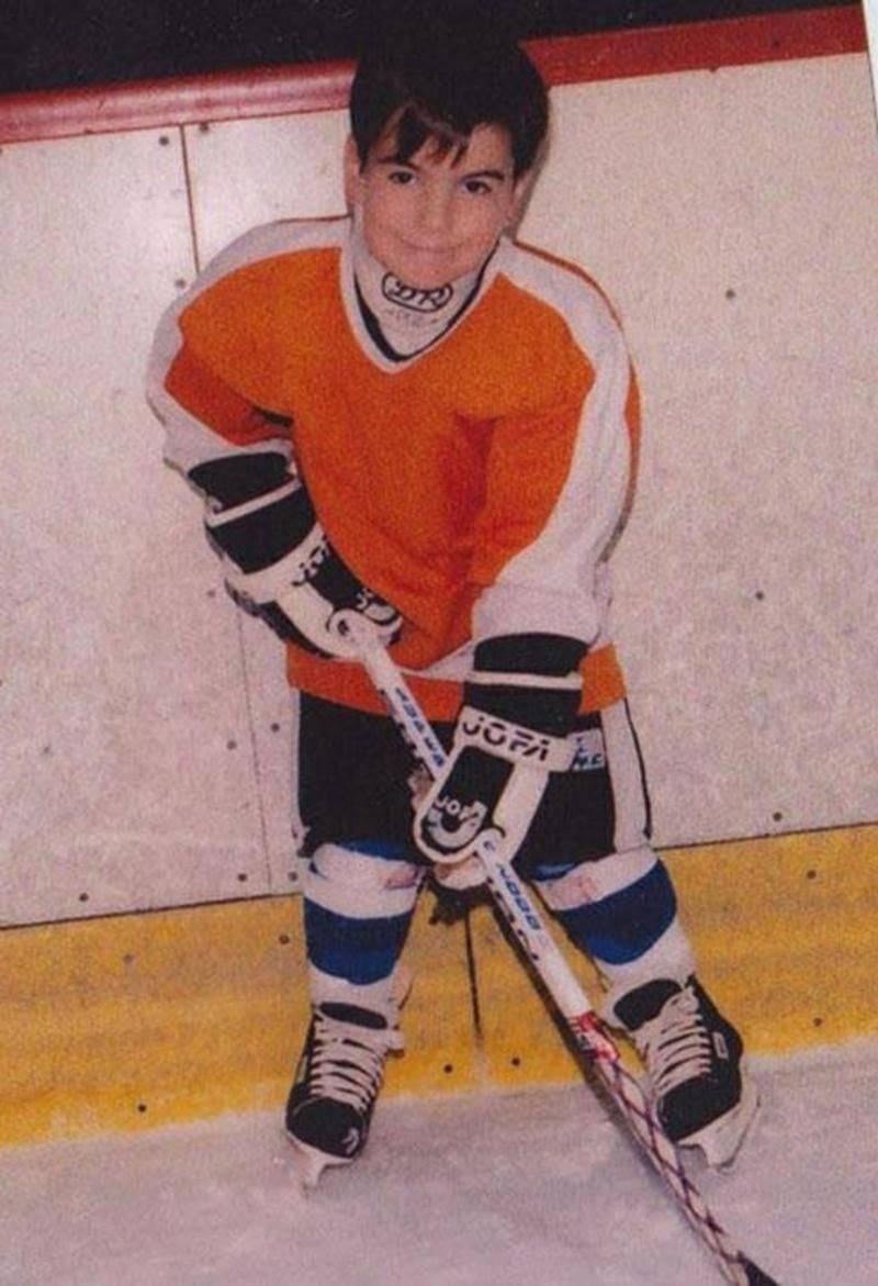 Marc-André Bourdon a joué son hockey mineur à Saint-Hyacinthe. Déjà en 1994, il semblait destiné à porter le gilet orange.