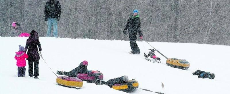 Avec la campagne Plaisirs d'hiver, Loisir et Sport Montérégie et Kino Québec souhaitent amener les citoyens à prendre l'habitude de bouger à l'extérieur en hiver. Photo François Larivière | Le Courrier ©