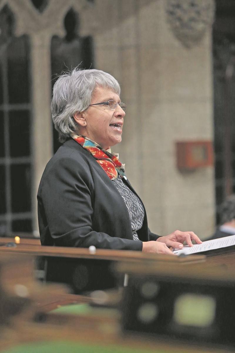 Brigitte Sansoucy, députée néodémocrate de Saint-Hyacinthe-Bagot Photothèque Le Courrier