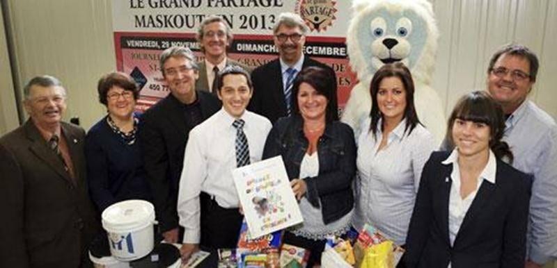 Les membres du comité organisateur du <em>Grand Partage Maskoutain</em> 2013.