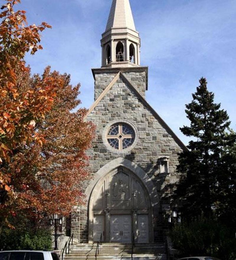 L'église Sacré-Coeur-de-Jésus située sur le boulevard Laframboise.