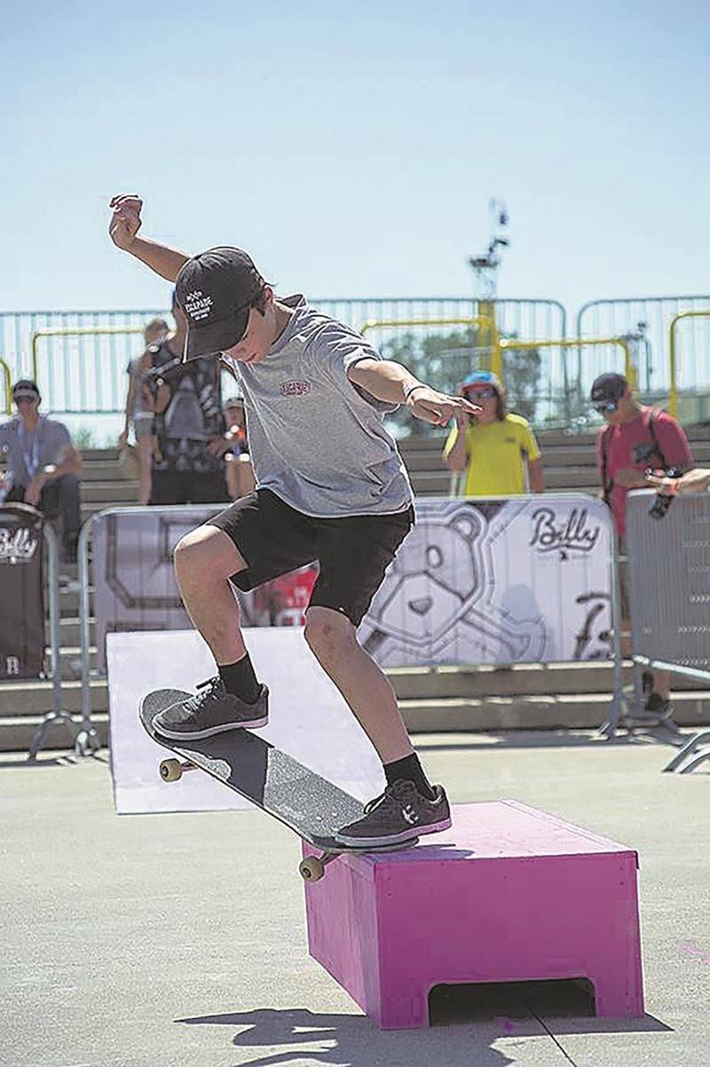 Le jeune Léo Hamel en action au Jackalope. Photo Courtoisie Blizzard Média