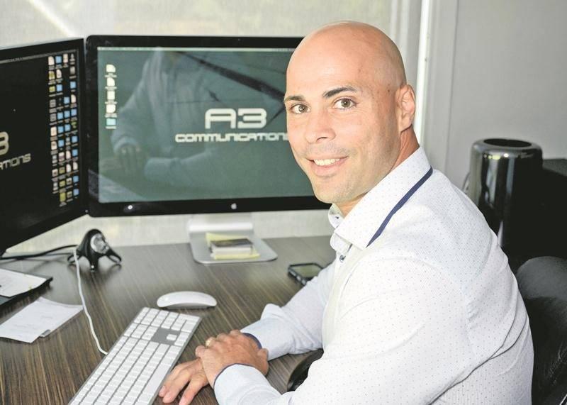 Christian Choquette, président de la firme maskoutaine A3 communication. Photothèque | Le Courrier ©