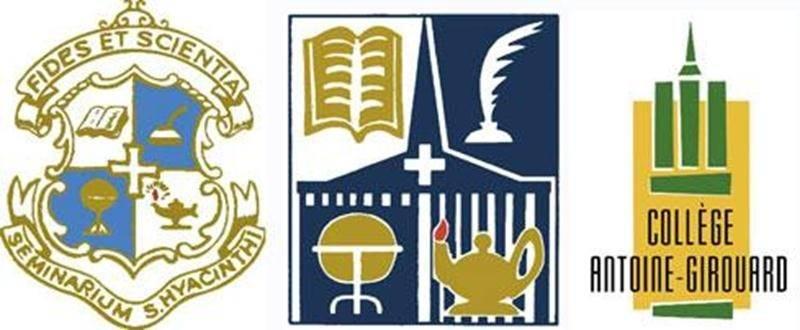 Les divers logos utilisés au cours des ans.