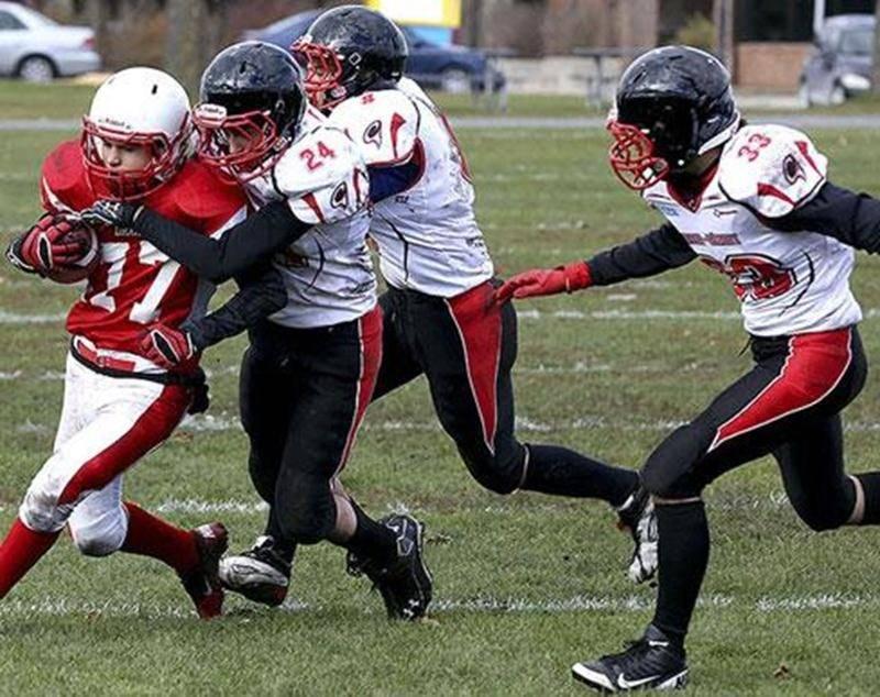 Le Drakkar cadet passe en finale de la division 3 grâce à une victoire de 29 à 8 contre l'école Edgar-Hébert en demi-finale.