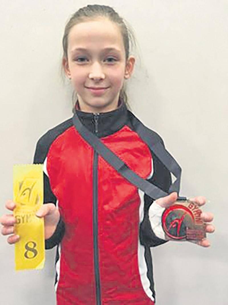 Avec sa 8e place au cumulatif à la qualification provinciale de gymnastique artistique, Mégane Champigny est l'une des quatre athlètes de Gymnaska-Voltigeurs qui a obtenu son laissez-passer pour la Coupe Provinciale.