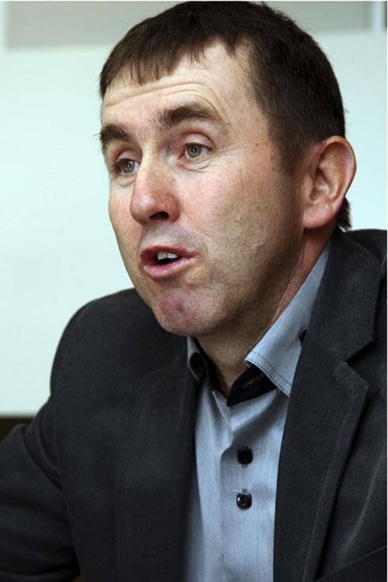 Clément Leblanc, producteur céréalier à Saint-Hyacinthe.