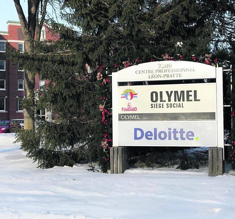 Le siège social d'Olymel à Saint-Hyacinthe Photothèque | Le Courrier ©